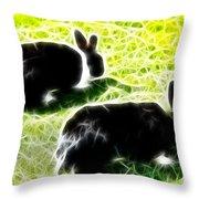 Easter Bunny 1 Throw Pillow