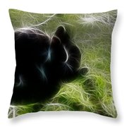 Easter Bunny 2 Throw Pillow