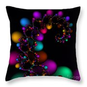 Easter Dna Galaxy 111 Throw Pillow