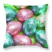 Easter Eggs Viii Throw Pillow