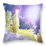 Easter Joy Throw Pillow
