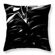 Easter Lily Two Throw Pillow