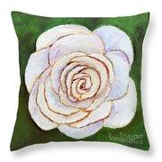 Easter Rose Throw Pillow