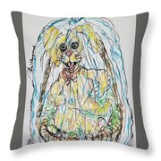 Easter Time Throw Pillow