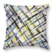 Easter Weave Throw Pillow