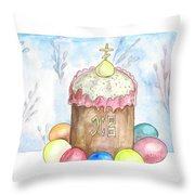 Easter Throw Pillow