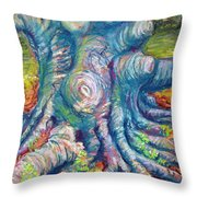 Eastern Beech Tree Throw Pillow