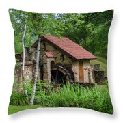 Eastern College - Water Mill Throw Pillow