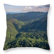 Eastern Continental Divide Throw Pillow
