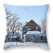Eastern Montana Farmhouse Throw Pillow
