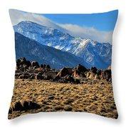 Eastern Sierras 2 Throw Pillow