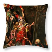 Eastward Ho Throw Pillow by Henry Nelson ONeil