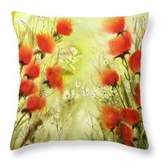 Easy Life Throw Pillow