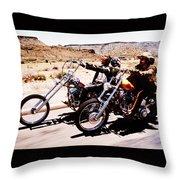 Easy Rider Photo Throw Pillow