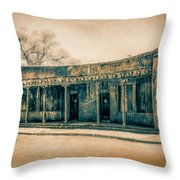 Eat And Drink Throw Pillow by Lou Novick