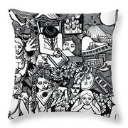Eat Chocolates Child Eat Chocolates Throw Pillow