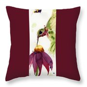 Eat Fresh II Throw Pillow