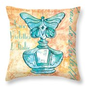Eau De Toilette Throw Pillow