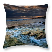 Ebb And Flow II Throw Pillow