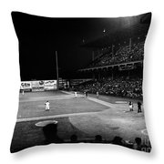 Ebbets Field, 1957 Throw Pillow