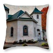Ebenezer United Methodist Church Throw Pillow