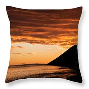 Ebey's Landing  Throw Pillow