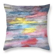Ebony Rainbow Throw Pillow