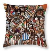 Ebonyverse Houses Of Nobility Throw Pillow