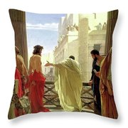 Ecce Homo Throw Pillow