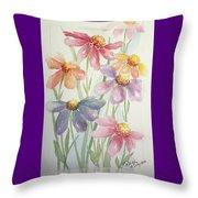 Echinacea Cheyenne Spirit Throw Pillow