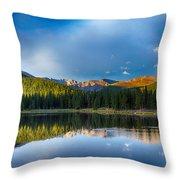 Echo Lake 4 Throw Pillow