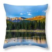Echo Lake 5 Throw Pillow