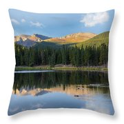 Echo Lake 6 Throw Pillow