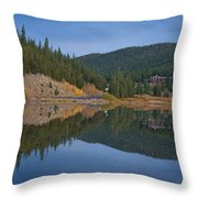 Echo Reflection Throw Pillow For Sale By Becca Buecher
