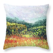 Echoes From Paradise Throw Pillow