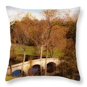 Echoes Of Courage Throw Pillow