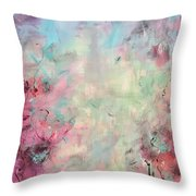 Echoes Of Joy Throw Pillow