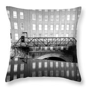 Echoes Of Mills Past Throw Pillow