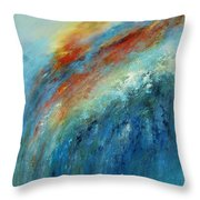Echoes Of Sunset Throw Pillow