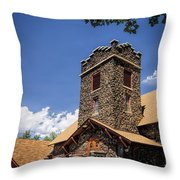 Eckert Colorado Presbyterian Church Throw Pillow