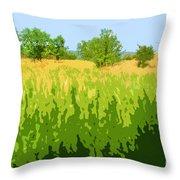 Eckert Skyline 1 Throw Pillow