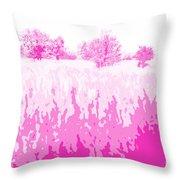 Eckert Skyline 5 Throw Pillow