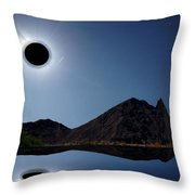 Eclips Of A Kind Throw Pillow