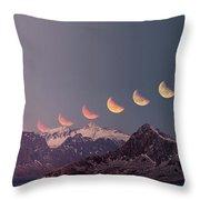 Eclipse Panorama Throw Pillow