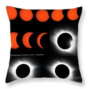 Eclipse Sequence Throw Pillow