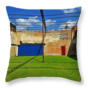Eco-store Throw Pillow