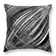Economic Bubble Throw Pillow