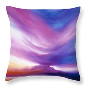 Ecstacy Throw Pillow by James Christopher Hill