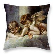 Ecstacy Of Saint Theresa Throw Pillow
