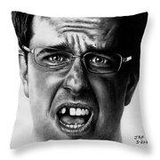 Ed Helms  Throw Pillow